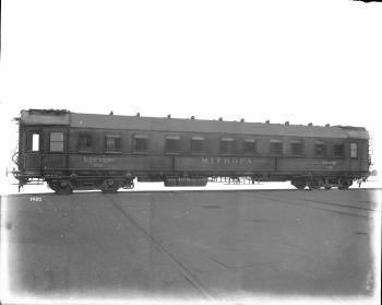 DRG Schlafwagen 2101 ff, Westwaggon 1923, RWWA