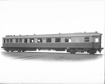 Personenwagen II. Klasse, MITROPA (Mitteleuropäische Schlafwagen- und Speisewagen-Aktien-Gesellschaft), Deutsche Reichsbahn Nr. 24.507, Rheingold, SB4ü, 1928