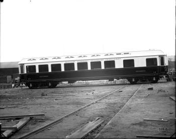 Speisewagen WR, Nr. 36 der Deutschen Eisenbahn-Speisewagen Gesellschaft, 1900