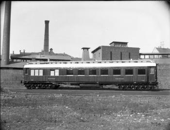 Speisewagen WR 6, Nr. 54, Teak der D.E.S.G. (Deutsche Eisenbahn-Speisewagen-Gesellschaft), 1905