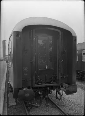 Gebrüder Gastell: Deutsche Schnellzugwagen, Mainz, AB4üm 11803 Quelle:arachne